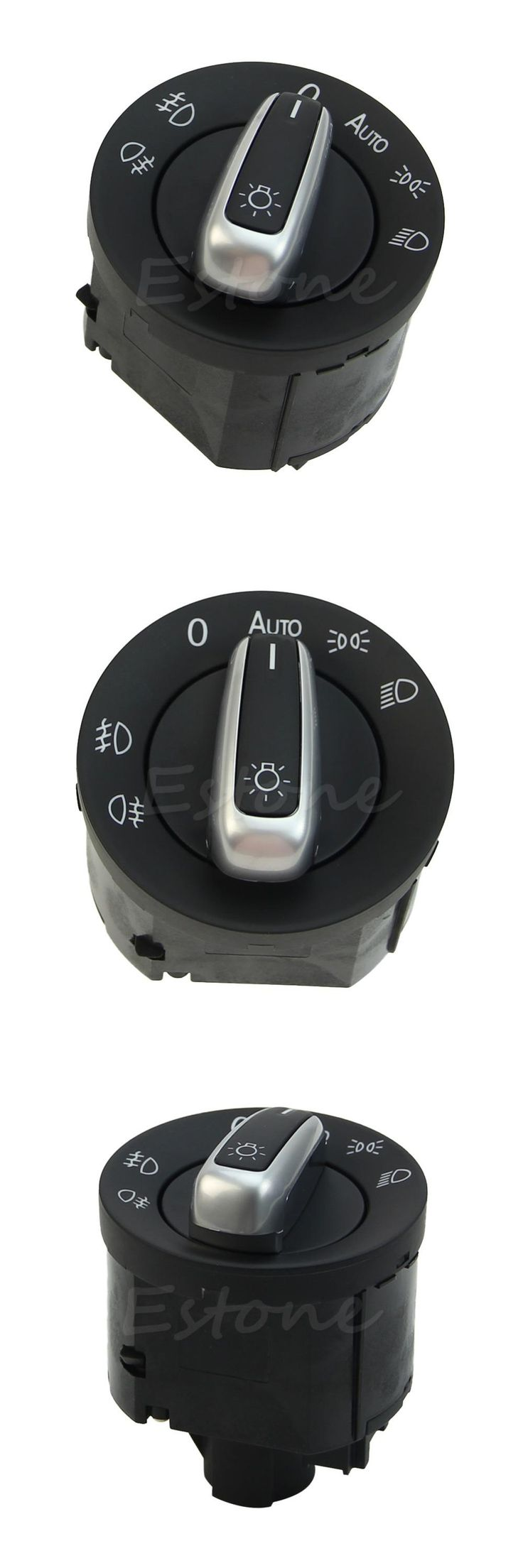 visit to buy kris chrome headlight switch control fit for vw golf jetta mk5