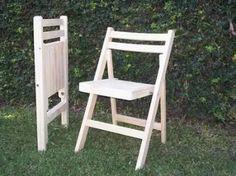silla de madera plegable mod.dr pino seleccionado