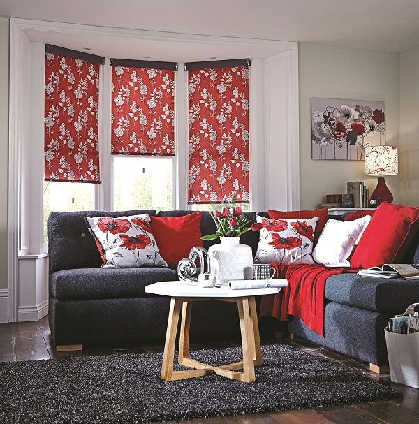 Eden summer roller blind.