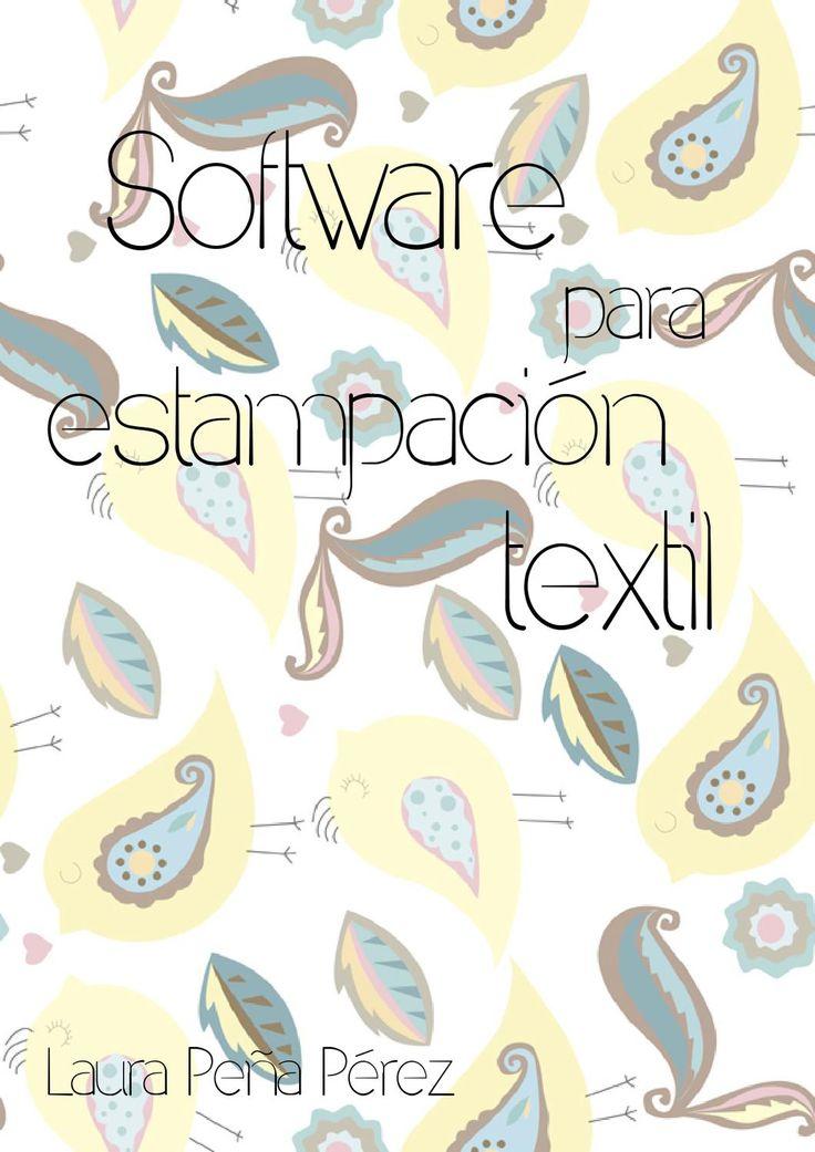 Software estampación textil  Trabajo sobre cómo diseñar estampados para tela digitalmente.