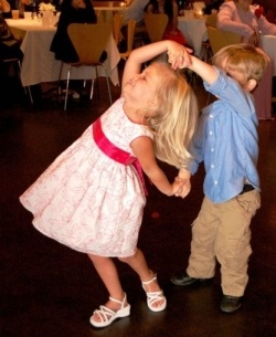 Kids Dancing.... So cute!! They are soon going to be professionals - that's for sure!