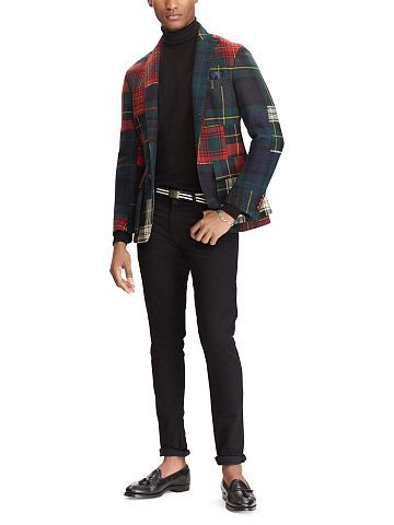 Polo Ralph Lauren Morgan Patchwork Sport Coat - Polo Ralph Lauren Blazers - Ralph Lauren UK