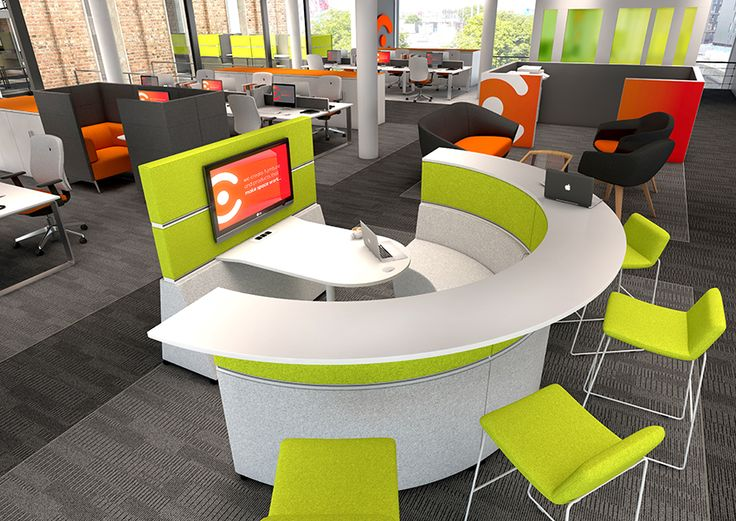 Furniture For Learning Products Shown: Hive Modular Furniture,and Swoosh  Stools, Designed By