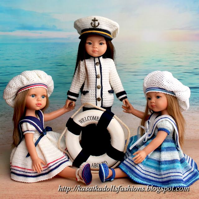 "KasatkaDollsFashions: ☸ Описание ""Мой Капитан"" для кукол Паола Рейна"