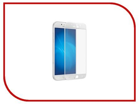 Аксессуар Защитное стекло Samsung Galaxy A3 2017 BROSCO Full Screen White SS-A3(7)-GLASS-WHITE  — 791 руб. —