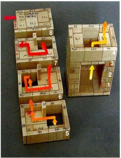 A working model that serves as a building plan