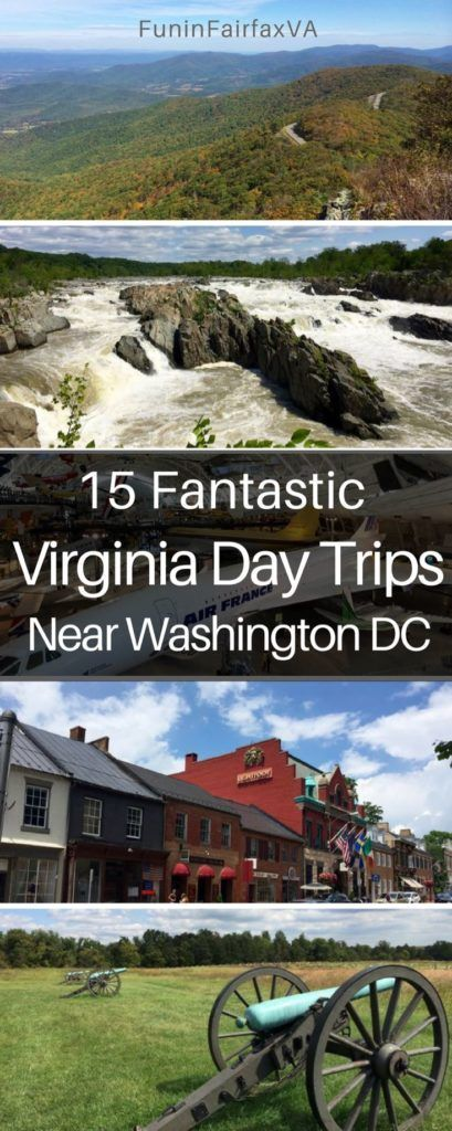 Things to Do in Virginia | Places to Visit Near Washington DC | These 15 fantastic Virginia day trips near Washington DC offer fun and interesting places to visit, whether you've got a few hours or a full day to explore. USA travel