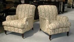 Howard Chairs, original fabric