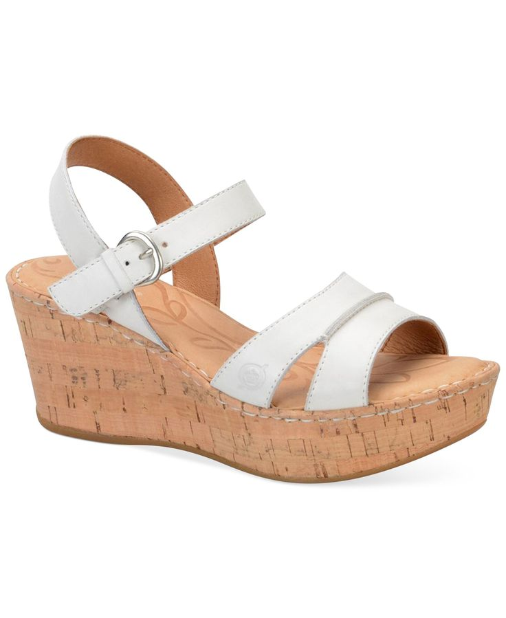 born tayen platform wedge sandals products