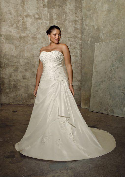 Vestidos de novia talla grande baratos