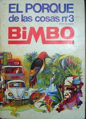 Álbum de cromos de El Porqué de las cosas número 3 de Bimbo