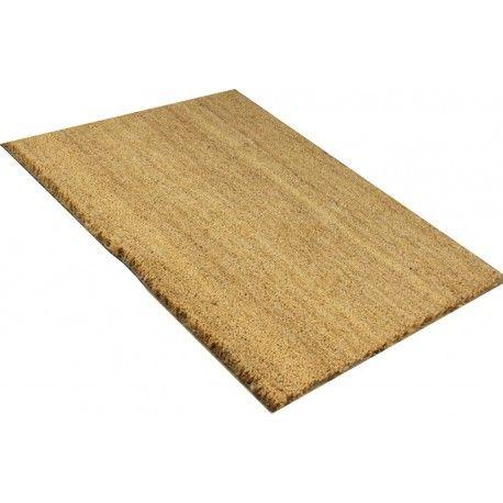 Kokosmat Uni KOKOSMAT 30 MM NATUREL STANDAARDAFMETINGEN De kokosmat is een effectieve deurmat, die ervoor zorgt dat vuil en vocht bij de deur worden gestopt. Door gebruik te maken van kwalitatieve kokosvezels heeft deze een optimale werking. dikte: 30 mm mm / rand: nee / pool: 100% kokos / rug: 100% vinyl http://www.gooodz.com/kokosmatten-uni/22-kokosmat-30-mm-naturel.html