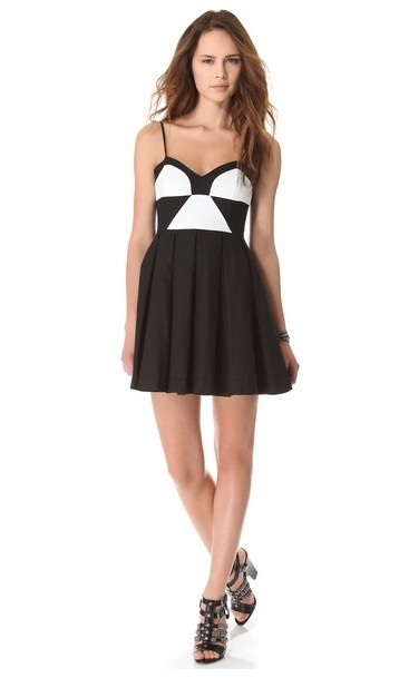 BB Dakota Colorblock Dress