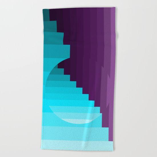 #ShareMySociety6 @society6 #Summer2017 #reiki #yoga #meditation #beach #towel #twins #popart #buy #wallart #leggings https://society6.com/product/ups-and-down--deep-within--purple--blue--turquoise-fag_beach-towel#s6-8106473p53a69v456
