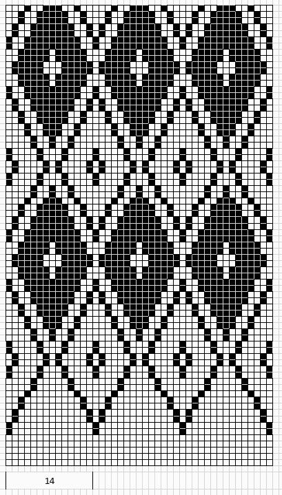 Mustrilaegas: Kirjatud kudumid And this pattern can be converted to be used for Mamma Astrup