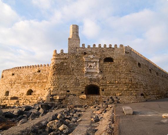 Iraklion Heraklion Crete Greece  Koules