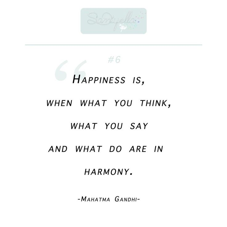 Happiness is, when what you think, what you say, and what you do are in harmony. #Mahatma #Gandhi  • Mehr findest du auf meinem #Blog • freu mich auf Dich •   #happyness #happiness #sayings #quote #quotes #weisheit #weiseworte #motivationalquote #motivation #zitate #zitat #words #thinking #think #gedanken #gedankenwelt
