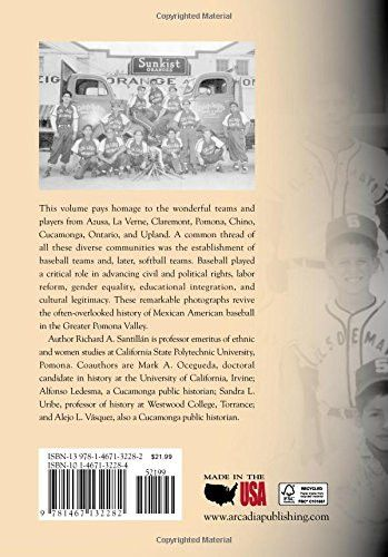 Mexican American Baseball in the Pomona Valley (Images of Baseball)