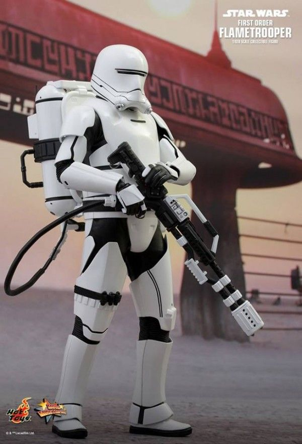ToyzMag.com » Star Wars: TFA 1/6th scale First Order Flametrooper