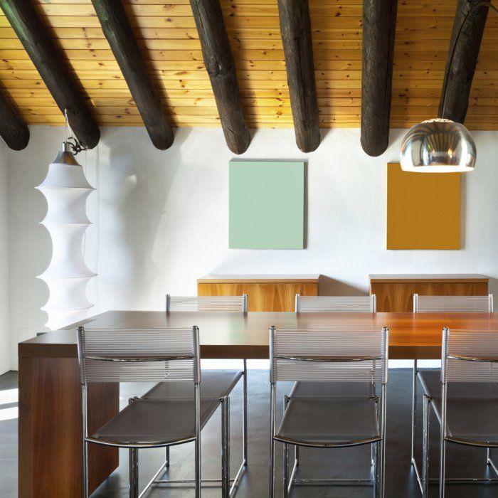 Comment poser une fausse poutre dans la salle à manger?                                                                                                                                                      Plus