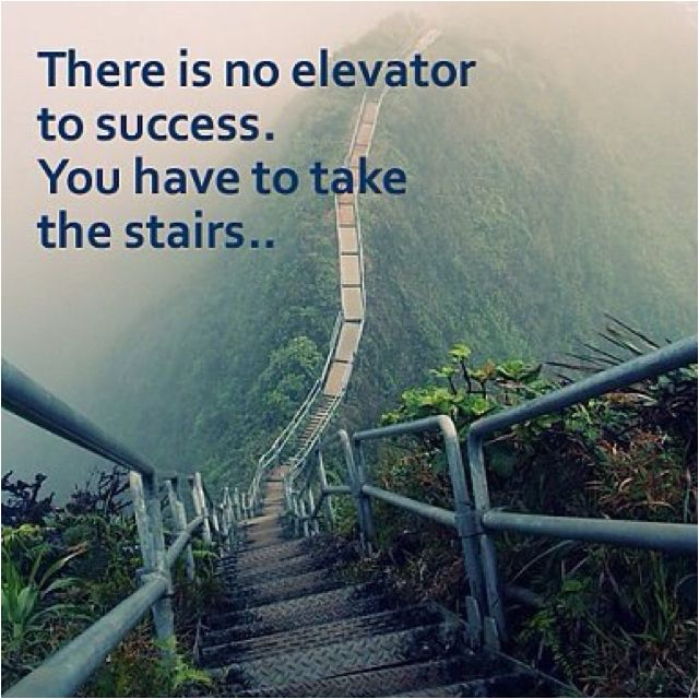 There is no elevator to success. You have to take the stairs... Check out my free video training at http://bliss biz.com