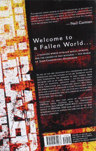John Constantine, Hellblazer, Vol. 1: Original Sins