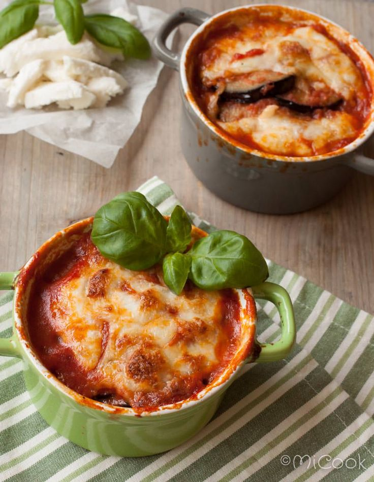 Italiaans auberginepannetje