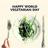 01.10.2013 Dia Mundial del Vegetarisme. Per a molts és una manera de viure, una elecció ètica de respecte als animals, a més d'una opció dietètica de menjar i viure saludablement. Els vegetarians estrictes o vegans només mengen vegetals i derivats, els lactovegetarians consumeixen a més productes làctics i els ovovegetarians a més mengen ous. + info: http://www.worldvegetarianday.org/, http://www.taringa.net/posts/info/7260172/1-de-octubre-Dia-mundial-del-Vegetarianismo.html