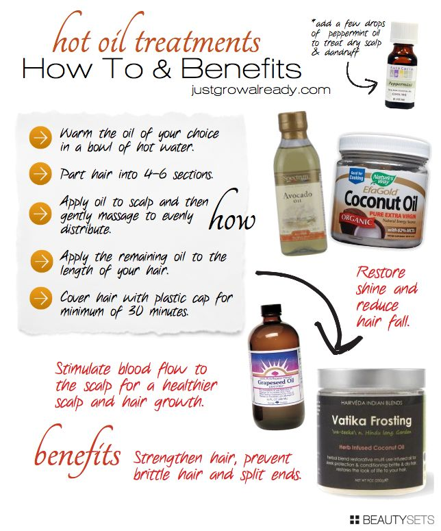 Beautysets - How To & Benefits: Hot Oil Treatments
