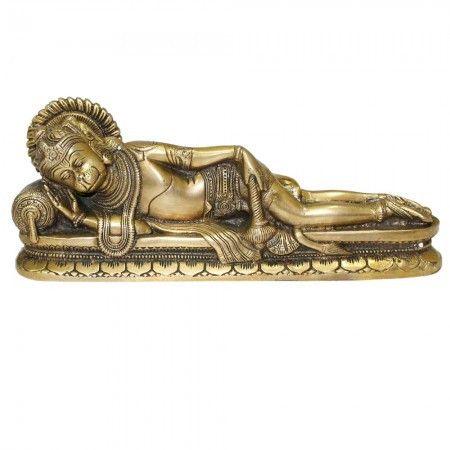 Lord Hanuman in Sleeping Posture
