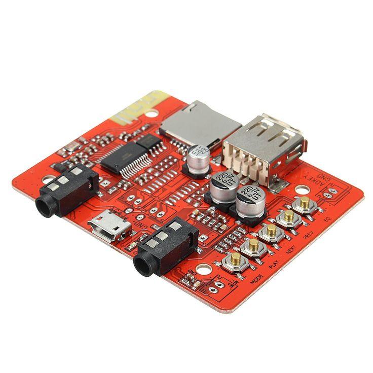 Купить товарНовое Прибытие Беспроводной Bluetooth 4.1 AUX 3.5 Автомобильный Телефон Аудио Усилитель Модуль USB TF Карта Порта DIY в категории Усилителина AliExpress.        в комплект поставки входят:1 шт. Беспроводная Связь Bluetooth 4.1 AUX 3.5 Автомобильный Телефон Усилитель Адаптер