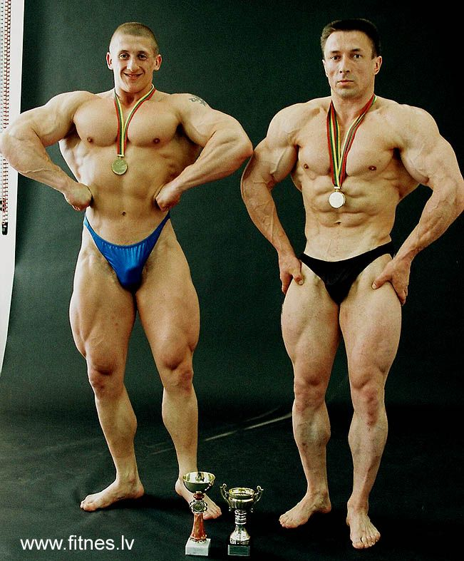 Latvian Fitness & Bodybuilding Federation / Bodybuilding Latvia photo gallery - культуристы Латвии