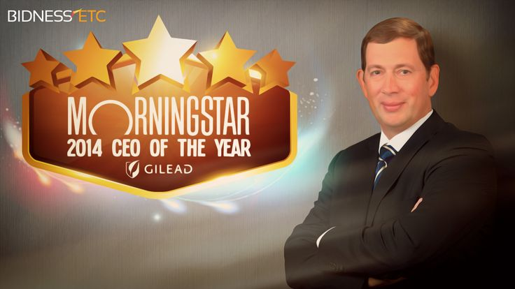 Investment research firm Morningstar has named John Martin of Gilead Sciences, Inc. (NASDAQ:GILD) as the winner of its 2014 CEO of the Year award.