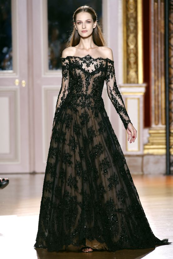Beautiful Black Gown~Haute Couture Automne-Hiver 2012-2013|40