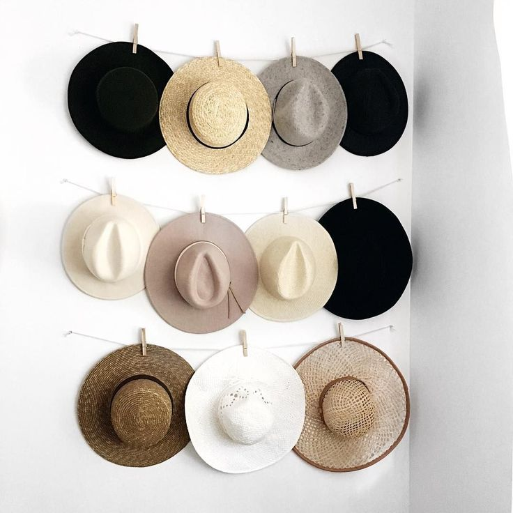Hat Storage DIY // Instagram: @stilettobeats                                                                                                                                                     More