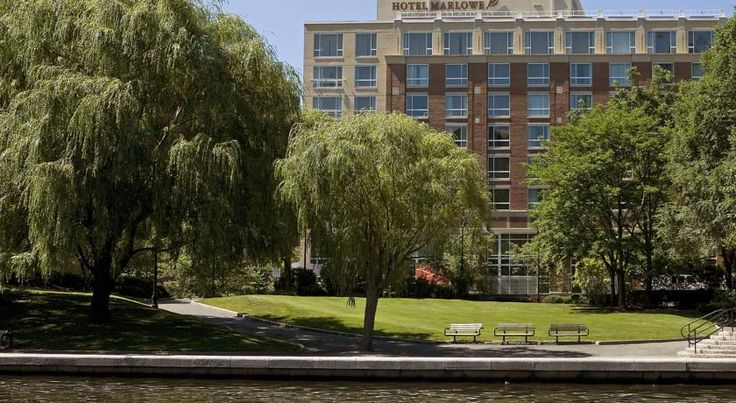 Kimpton Marlowe Hotel Cambridge Offering exceptional services, luxurious accommodations and state-of-the-art amenities, this Cambridge, Massachusetts eco-friendly hotel is only moments from Harvard Square and is situated along the Charles River, directly across from Boston city...