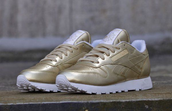 Reebok Classic Leather Spirit 'Sensation' (cuir doré) (1)