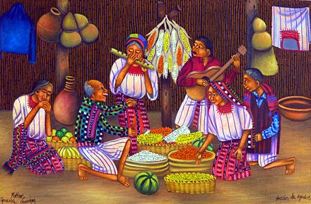 Guatemala ~ Matias Gonzalez Chavajay ~ Thanksgiving