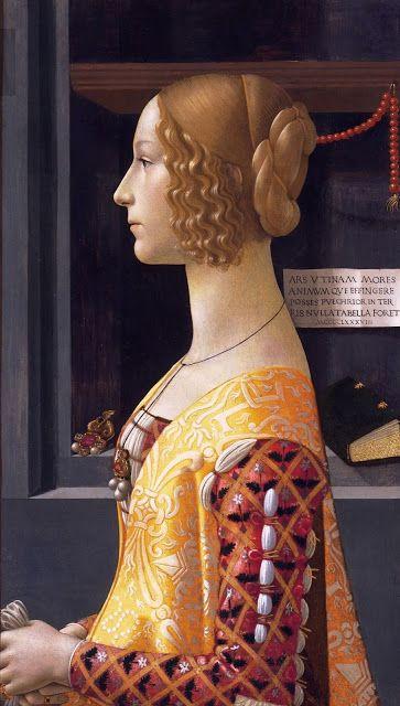 Domenico Ghirlandaio's original Giovanna Tornabuoni