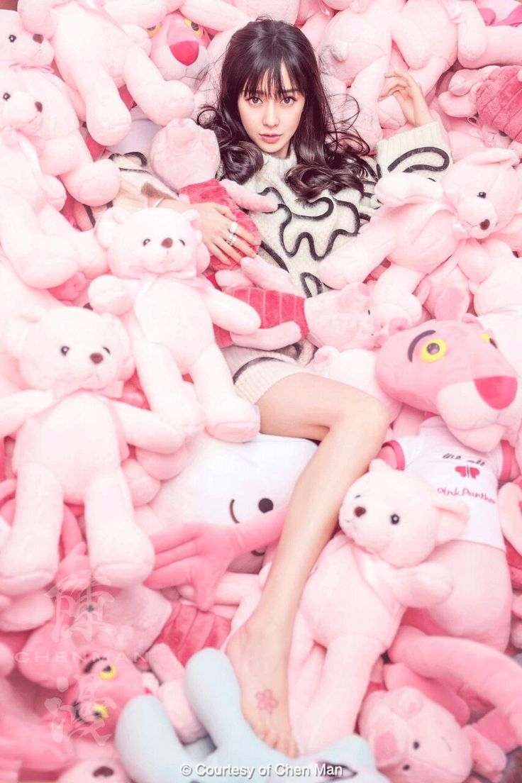 Angelababy by Chen Man for Cosmopolitan China December 2016