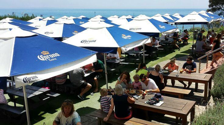 Portsea Hotel Beer Garden, Mornington Peninsula, Victoria, Australia