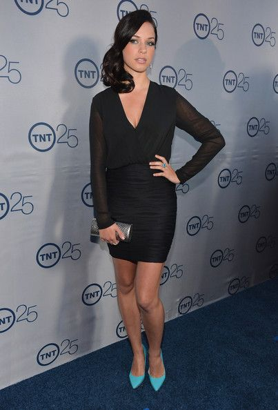 Alexis Knapp Photos Photos - Actress Alexis Knapp arrives to TNT's 25th Anniversary Party at The Beverly Hilton Hotel on July 24, 2013 in Beverly Hills, California. - Arrivals at TNT's 25th Anniversary Party