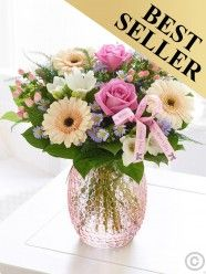 Mothers Day Flower Garden Vase