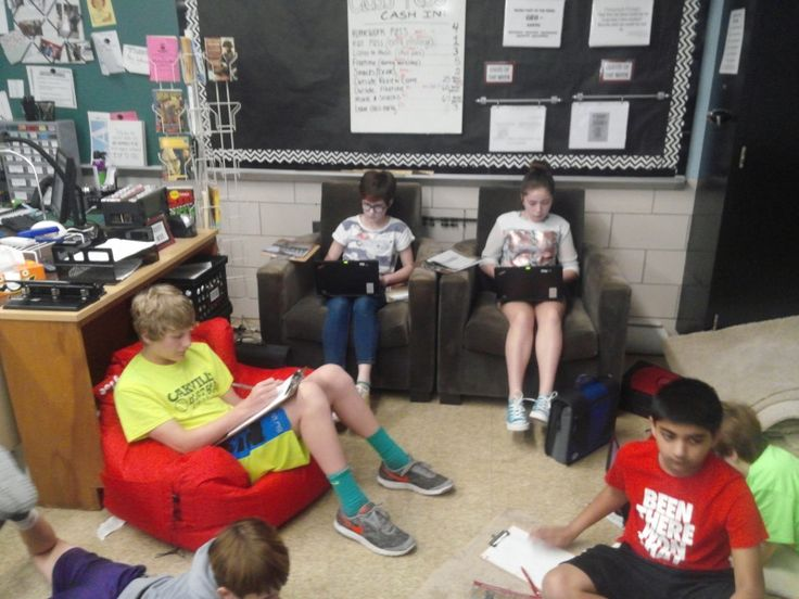 Flexible Classroom Seating in Middle School: How I Started the Switch – Hannah's Homeroom