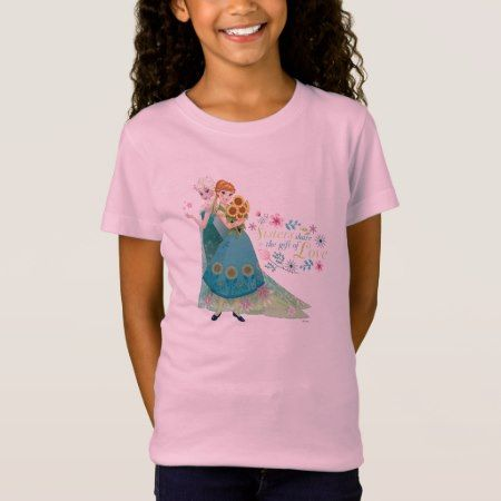 Anna and Elsa   Sister Love T-Shirt - click to get yours right now!