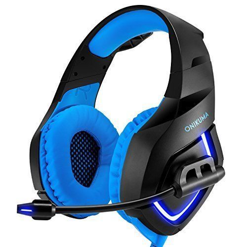 Wired Gaming Headset USB Surround Sound With LED Light Microphone Headphones New #WiredGamingHeadsetUSB