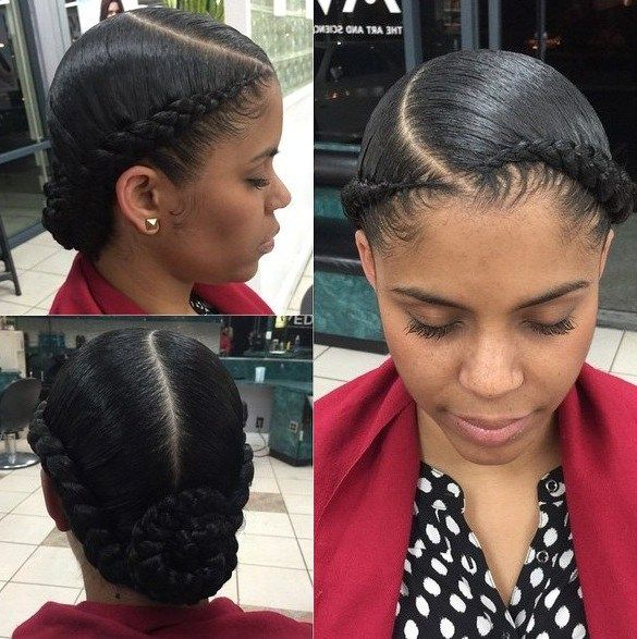 Surprising 1000 Ideas About Black Braided Hairstyles On Pinterest Hairstyle Inspiration Daily Dogsangcom