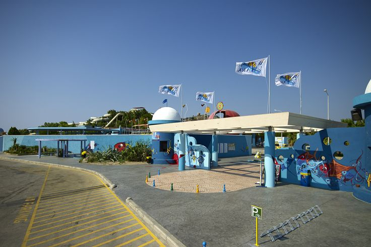 The entrance of the Water Park!