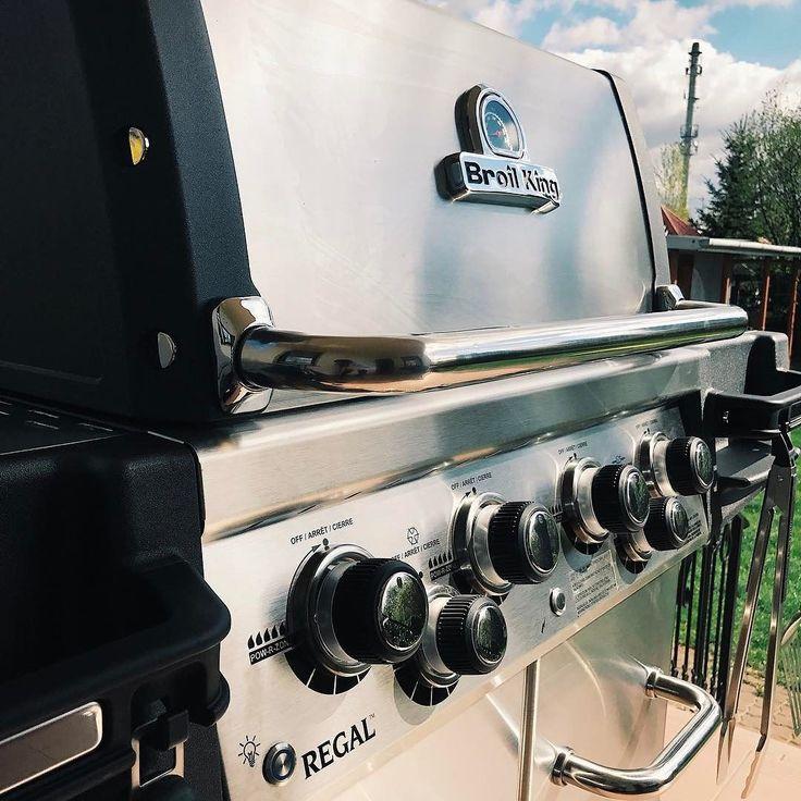 Piękny dzień na grilla - Regal S490 Pro #broilking #broilkingPL #wielkanoc