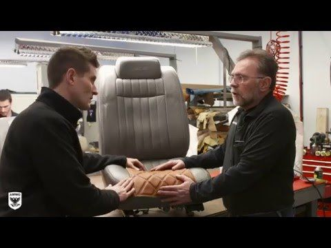 leather repair on a car seat - YouTube